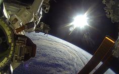 Video: Watch: Nasa astronauts take a GoPro on a spacewalk - Telegraph