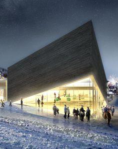 Kimball Art Center in Utah by Bjarke Ingels Group
