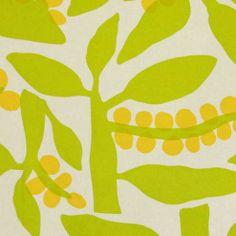 Alexander Henry HOME DECOR Copenhagen Fabric OOP lemon lime