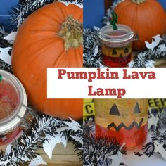 Pumpkin Lava Lamps