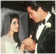 Elvis and Priscilla Presley. What a beautiful couple :)