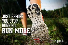 just keep going #Spree #spreesports