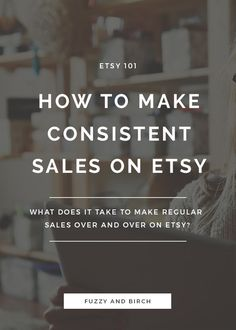 It's the holy grail of selling online: ready to learn how to make consistent sales on Etsy? It's all waiting for you in this Six-Minute Makeover -- watch it now! Etsy Business, Craft Business, Online Business, Creative Business, Viral Marketing, Business Marketing, Media Marketing, Digital Marketing, Marketing Strategies