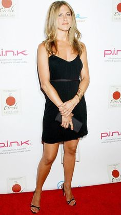 Jennifer Aniston's 32 Best Little Black Dresses Ever - June 19, 2007 - from InStyle.com