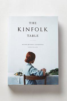 The Kinfolk Table #anthropologie
