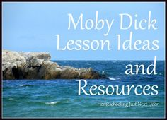Moby Dick Lesson Ideas and Resources
