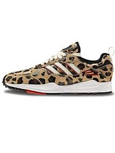 Adidas Sneakers - Tech Super 2.0 w Leopard/red | PRINSESSE2BEN,