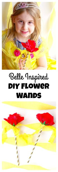 DIY Flower Wands