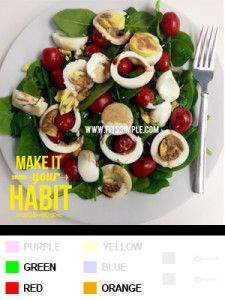 LUNCH | 21 Day Fix Recipes, Meal Plans, and ALL THE DETAILS!!!  Egg Spinach Salad