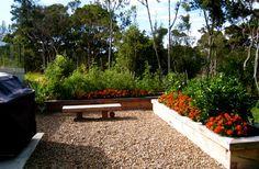 Greenhithe Garden Design Landscape Designs, Garden Bridge, Garden Design, Outdoor Structures, Plants, Flora, Backyard Landscape Design, Landscape Design, Plant
