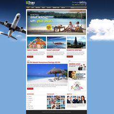 Be One Holiday. #concept #design #website #portfolio