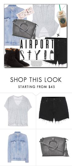 """In Route"" by sherieme ❤ liked on Polyvore featuring Acne Studios, rag & bone, Citizens of Humanity, Nasty Gal and Isabel Marant"