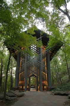 Thorncrown Chapel- where I am getting married in July!! Can't wait!