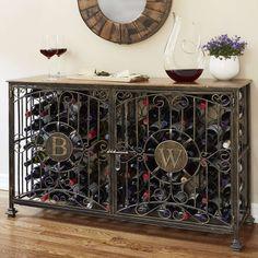 Wine Rack Cabinet Custom Wine Enthusiast Professional Steel Wine Chiller Lowes Wine Storage At Lowescom Wine Rack Cabinet, Wine Rack Wall, Wine Racks, Liquor Cabinet, Steel Metal, Wood And Metal, Wine Storage, Locker Storage, Wine Bottle Dimensions