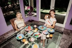 Wildfox Sunkissed Spring 2017 Victoria Germyn and Robin Marjolein by Mark Hunter and Steven Meiers - Fashion Editorials
