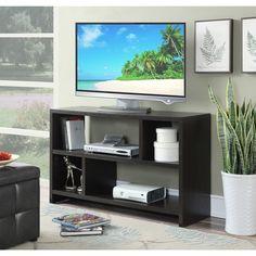 Convenience Concepts Northfield TV Stand Console (Espresso), Brown