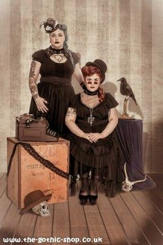 Spin Doctor plus size clothing shoot (Steampunk)