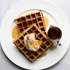 53 Make-Ahead Father's Day Breakfast Recipes | Epicurious Belgian Waffle Iron, Belgian Waffles, Brunch Recipes, Breakfast Recipes, Brunch Ideas, Breakfast Ideas, Breakfast Club, Sweet Recipes, Deserts