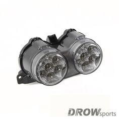 DCR Yamaha Zuma 125 Tail Light Cover LED Turn Signals www