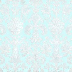 Rossi Caramella Print Paper - Tapestry on Aqua ($2.99) ❤ liked on Polyvore featuring backgrounds