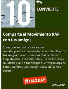 Convierte. Consejo número 10 del Decálogo del Movimiento RAP de Calidad Pascual.  #HazRAP y reduce el #desperdicioalimentos