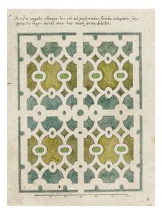 Modéle de parterre de jardin -Art.fr - Musée national de la Renaissance (Ecouen) (RMN) - tableaux et affiches pour amoureux d'art