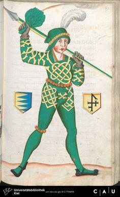 Nürnberger Schembart-Buch Erscheinungsjahr: 16XX  Cod. ms. KB 395  Folio 132