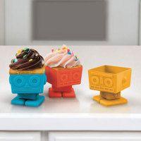 robot cake cup