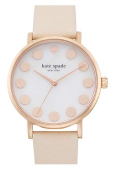 Obsessed with this Kate Spade watch