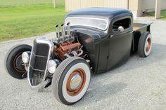 1936 Chevrolet Pickup–Hot Rod :: Spirited Automobiles