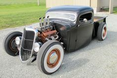 1936 Chevrolet Pickup – Hot Rod :: Spirited Automobiles