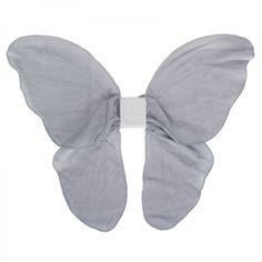 Numero 74 Grey Cloth Fairy Wings  at alexandalexa.com