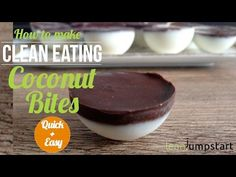 Chocolate Coconut Cookies with Just 2 Ingredients: Quick and Easy - Leanjumpstart Clean Eating Habits