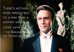 "Christopher Plummer ~ ""The Sound of Music"", 1965 Sound Of Music Quotes, Sound Of Music Movie, I Movie, Christopher Plummer, Music Memes, Music Education, Old Movies, Classic Movies, Movie Quotes"