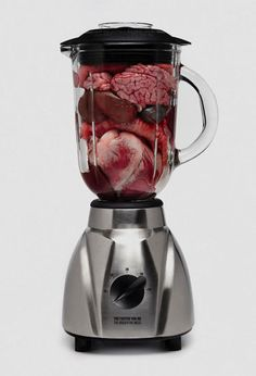 Organs In A Blender, for those hard-to-wake mornings.