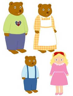 """This preschool EFL lesson plan is based on the """"Goldilocks & the 3 Bears"""" story, which is one of the most popular traditional tales among the little ones. Through this fantastic boo… Bears Preschool, Preschool Activities, Fairy Tale Activities, Book Activities, Baby Christmas Photos, Traditional Tales, Goldilocks And The Three Bears, Card Games For Kids, 3 Bears"""