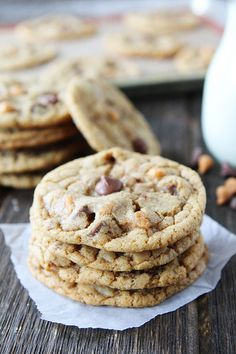Butterscotch, Toffee, Chocolate Chip Cookie Recipe