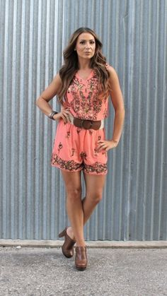 Jeweled Romper
