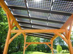 Solar Pergola traditional