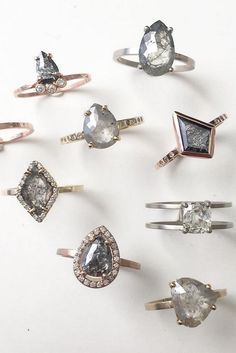 Custom Diamond Rings by LexLuxe on Etsy