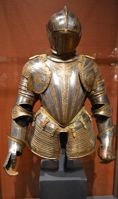 Art Institute of Chicago.... Who knew an art museum would have armour, even fancy-shmancy plate like this?