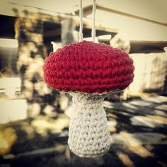 Ravelry: Mushroom Ornament pattern by CultGrrrl Creations