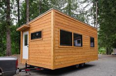 Ready to enjoy tiny living during your retirement years? Rewild Homes built the 240-square-foot Ptarmigan for those looking to age comfortably in place.