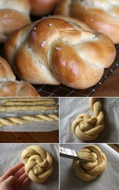 This Step-by-Step Guide For Delicious Challah Bread Rolls Holla for that Challah! How to make these yummy bread rolls.Holla for that Challah! How to make these yummy bread rolls. Challah Rolls, Bread Rolls, Kosher Recipes, Cooking Recipes, Challah Dough Recipe, Comida Israeli, Hanukkah Food, Hannukah, Bread Shaping