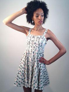 Owl Print Dress   Smak Parlour