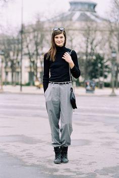 Paris Fashion Week AW 2015....Julia