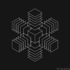 pi-slices: Swirling Cubes - 150503 - Psychetronic Tonic