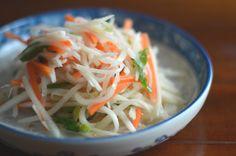 Recipe: Moo Saeng Chae, Korean radish side dish