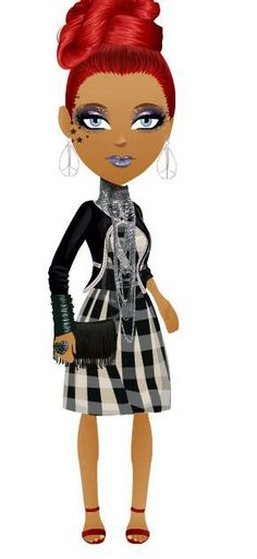 mall world 60's glam girl