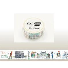 mt-mt Masking Tape : mt Miroslav Sasek This is Rome $6.90